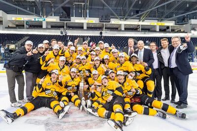 2016 WHL champs Brandon Wheat Kings