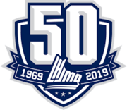 QMJHL 50th Anniversary logo