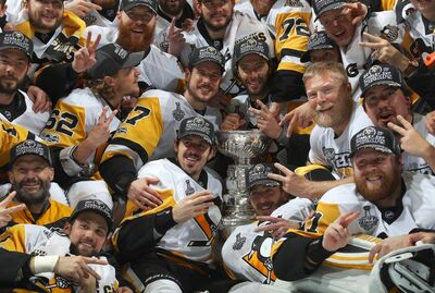2017 Stanley Cup champs Pittsburgh Penguins