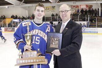 Max Flanagan (2014 Lorne Lyndon for Hockey Ability & Sportsmanship)