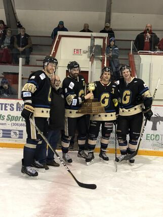 2018 ACHW champs Lacombe Generals