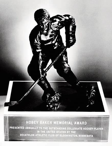 5727b1929 The Hobey Baker Award is an annual award given to the top National  Collegiate Athletic Association men s ice hockey player. It has been  awarded 36 times.