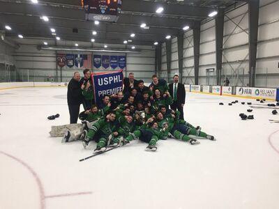 2018 USPHL Premier champions Hampton Roads Whalers