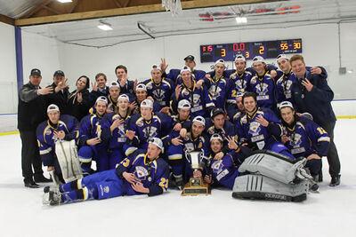 2016 CalJHL champs CRAA Gold