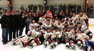 2017 CCHL2 champs Casselman Vikings