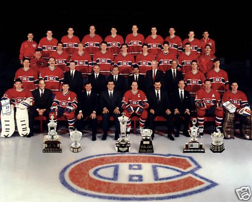 фото команды монреаль канадиенс