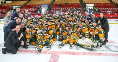 2018 University Cup champions Alberta Golden Bears