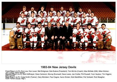 1983-84 Devils