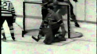 Montreal Canadiens win 1957 Stanley cup