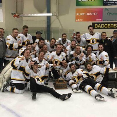 2017 WMHL champions Shaunavon Badgers