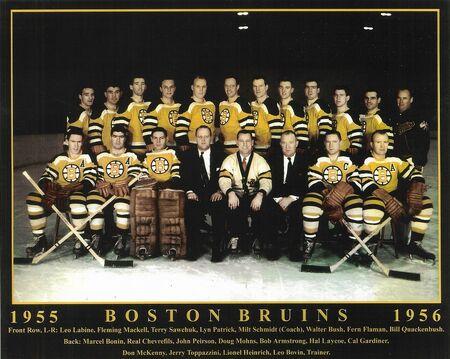 1955-56 Bruins Team