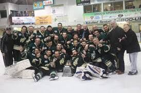 2019 Herder Memorial Trophy champions Grand Falls-Windsor Cataracts