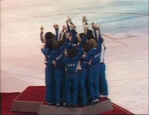 Miracle on Ice - podium