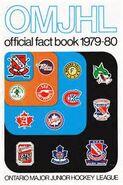 1979-80 OMJHL Media guide cover