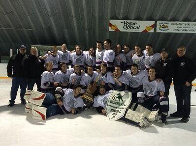 2016 PEIJCHL champs South Side Lynx