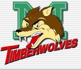 Former Timberwolves logo
