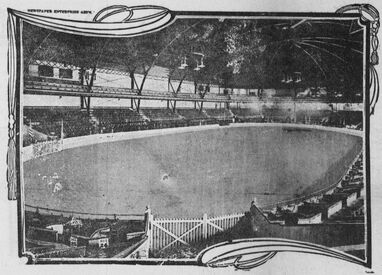 The Coliseum in St Louis 1904 (internal view)
