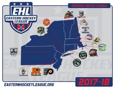 EHL Map 2017-18