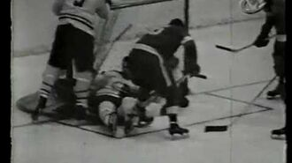 1954 NHL STANLEY CUP WINNERS ARE THE DETROIT RED WINGS DEFEATING THE MONTREAL CANADIENS
