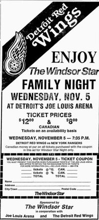 86-87NHLDetroitGameAd