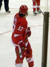 Anaheim Ducks vs. Detroit Red Wings Oct 8, 2010 28