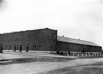 Old Thief River Falls Arena exterior