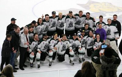 2018 GMHL champions Almaguin Spartans