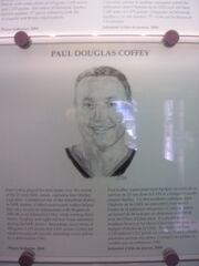 Paul Coffey plaque