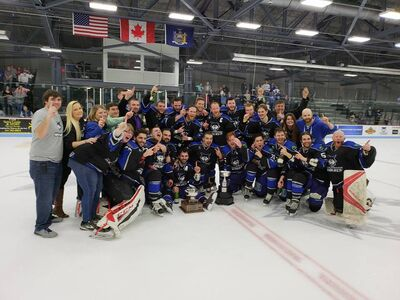 2018 FHL champions Watertown Wolves