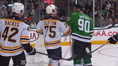 Connor Clifton vs Jason Spezza Nov 16, 2018