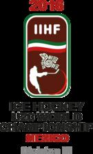 2016 World Junior Ice Hockey Championships Division III Logo