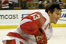 Datsyuk Warmup
