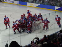 Russia men's hockey team 2002