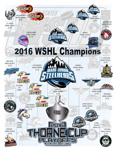 2016 WSHL Playoff bracket printout
