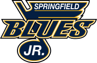 Springfield Jr Blues Logo Navy