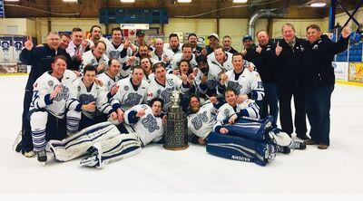 2018 NPHL champs Fort St. John Flyers