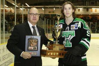 Brad Bowles (2015 Lorne Lyndon for Hockey Ability & Sportsmanship)