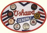 Oshawa Generals Logos Collage