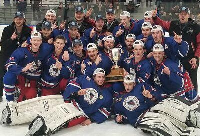 2018 CalJHL champions CBHA Rangers