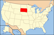 286px-Map of USA SD svg