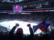 Olympic Winter Games Ice Hockey - Russia againts Slovenia - score 4-2 (12515578553).jpg