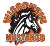 Wisconsin Mustangs Logo