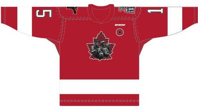 Quebec Remparts Memorial Cup 2015 jersey