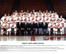 1990-91 Devils