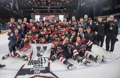 2019 University Cup champions New Brunswick Reds