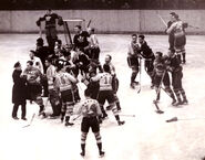 21Feb1937- Leafs-Amerks fight