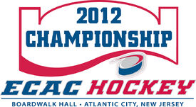 2012 ECAC Hockey Tournament logo