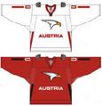 Austria national ice hockey team Home & Away Jerseys