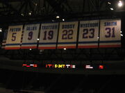 Retired numbers