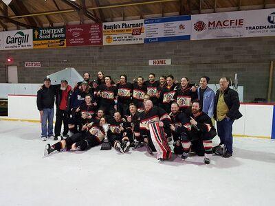 2018 TRSHL champions Birch Hills Blackhawks